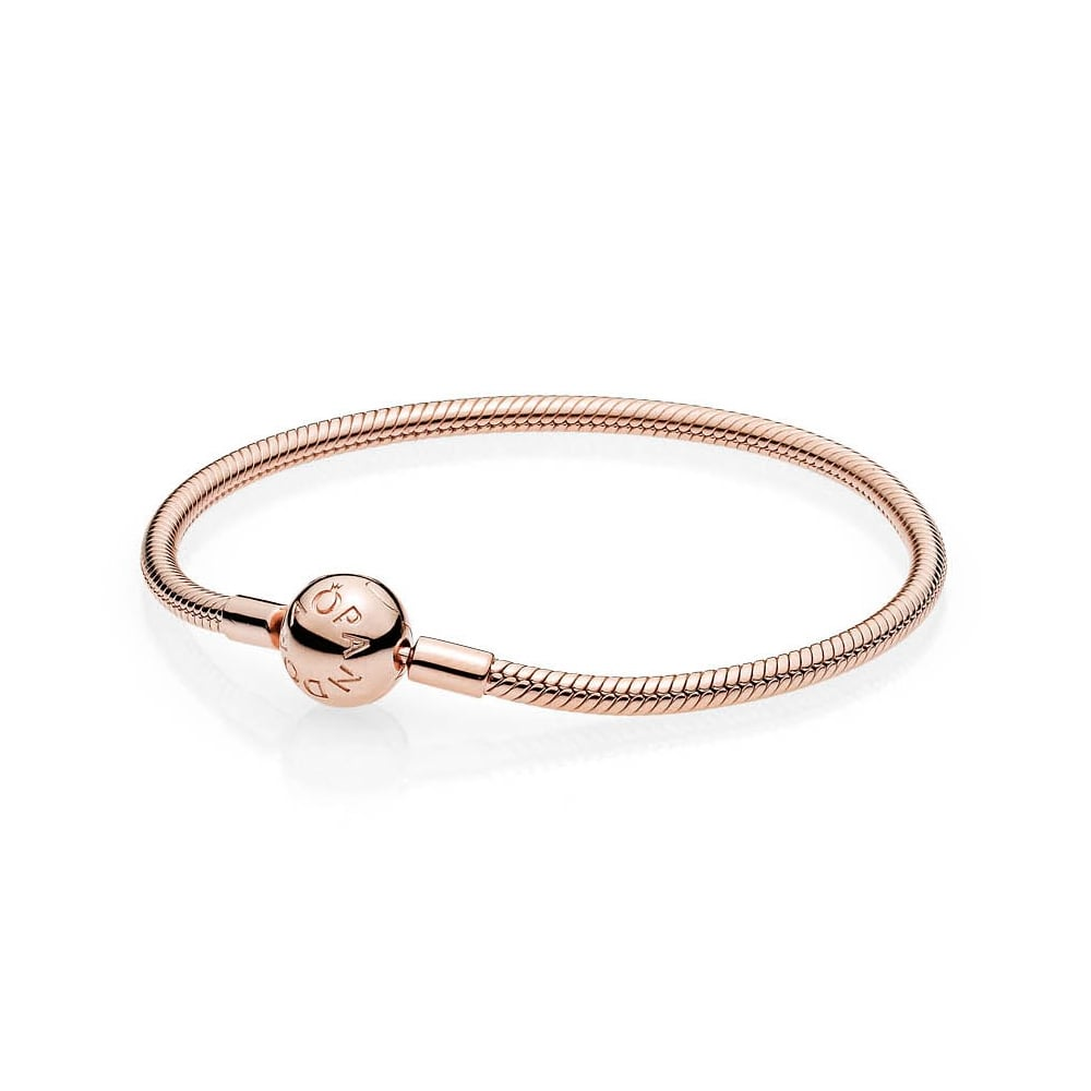 *당일발송*[PANDORA]판도라 팔찌 Smooth PANDORA Rose Clasp Bracelet #580728