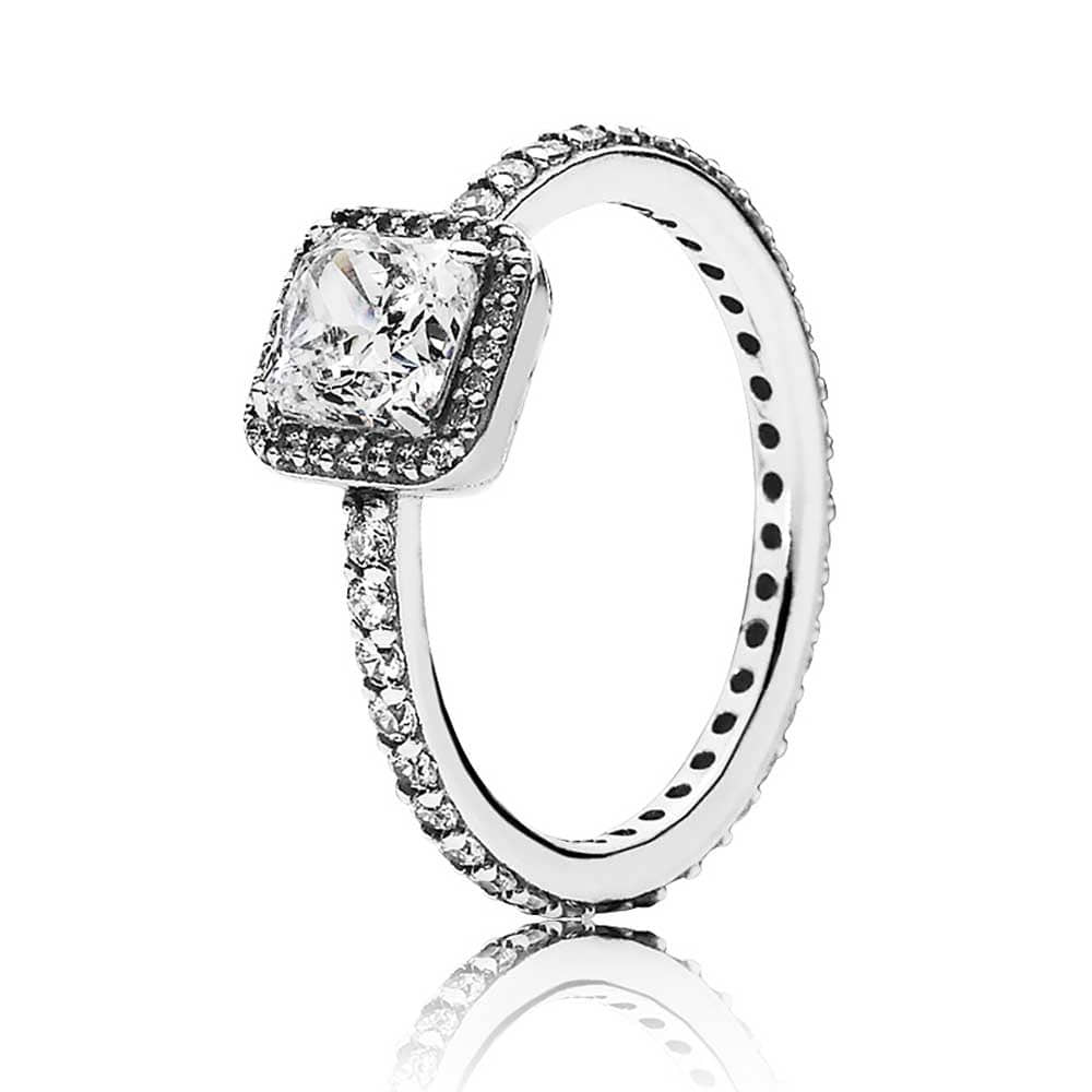 *당일발송* 판도라 [PANDORA] 당일발송 반지 Ring Timeless Elegance, Clear CZ 190947CZ
