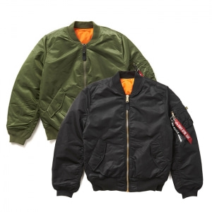 알파인더스트리 [ALPHA INDUSTRIES] 우먼 자켓 MA-1 W WJM44500C1 ALPHA INDUSTRIES W MA-1 FLIGHT JACKET