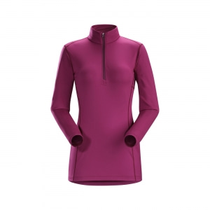 아크테릭스 [ARCTERYX] W Phase AR Zip Neck LS #16251