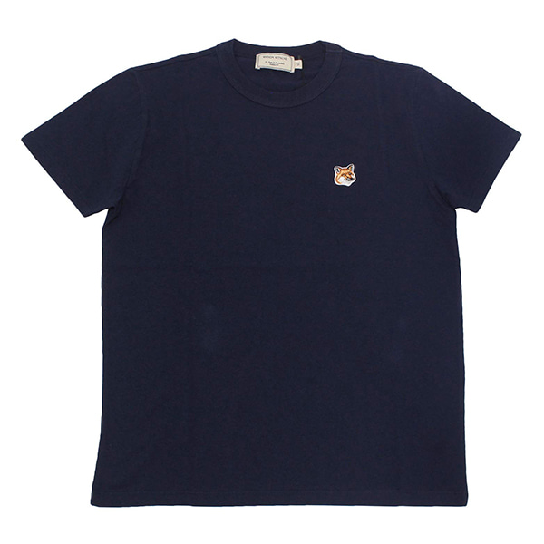 [MAISON KITSUNE] 메종키츠네 TEE SHIRT FOX HEAD PATCH AW00103KJ0005